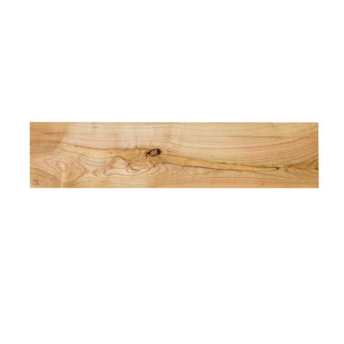 MODEL B0 floating shelf, one piece wild cherry wood