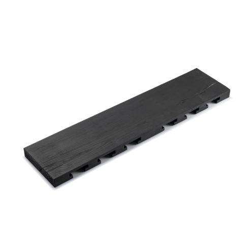 MODEL B12 glass rack – one piece burned ash (black)